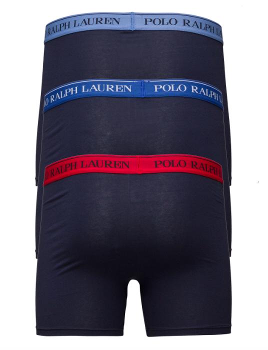Ralph Lauren 3Pack Boxerky Navy&Sapphire, L - 2