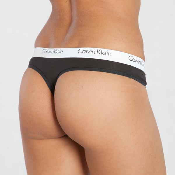 Calvin Klein Tangá CK One Čierne, XS - 2