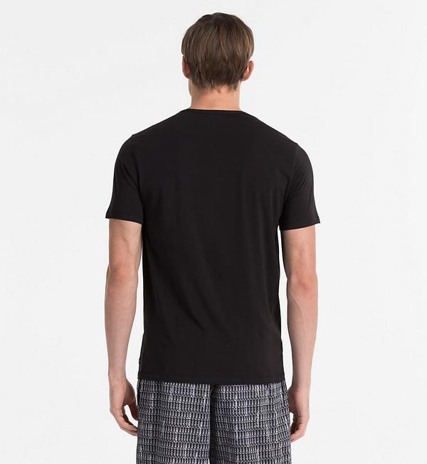 Calvin Klein Pánske Tričko CK Black, S - 2
