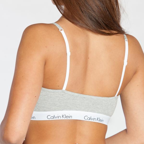 Calvin Klein Podprsenka Grey, L - 2