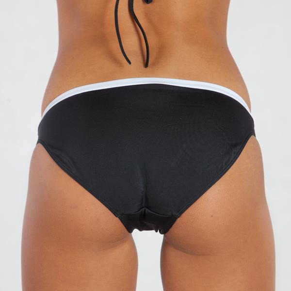 Calvin Klein Plavky Bandeau Čierne Spodný Diel, XS - 2