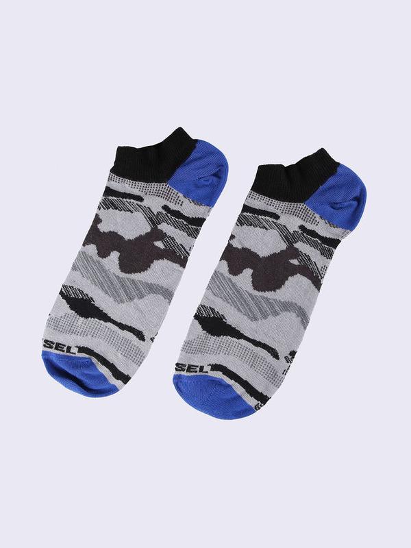 Diesel Ponožky Maskáčové Šedé, M - 2