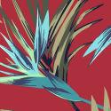 Victoria´s Secret Podprsenka Red Tropical Print - 2