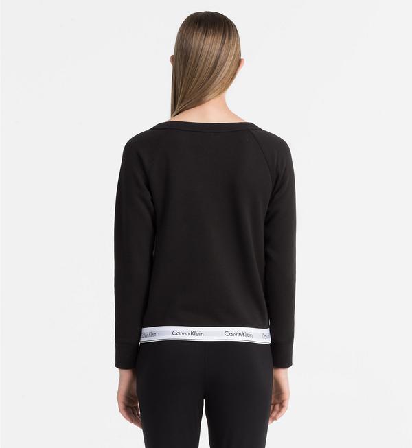 Calvin Klein Mikina Čierna, XL - 2