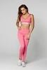 Gym Glamour Legíny High Waist Pink, S - 2/5