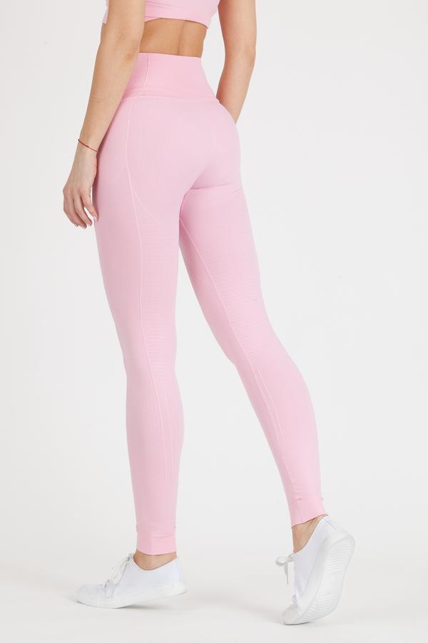 GoldBee Legíny BeSeamless Candy Pink, XL - 2
