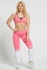 Gym Glamour Legíny Pink & White Socks, M - 2/7