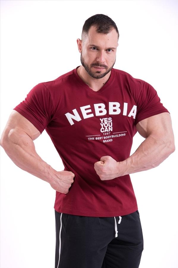 Nebbia Tričko 396 Pánske Hardcore Červene, M - 2