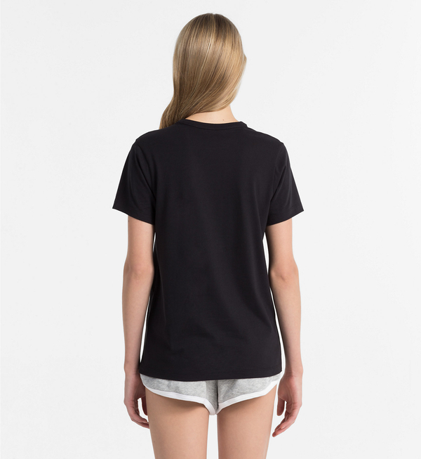 Calvin Klein Dámské Tričko Logo Čierne, S - 2