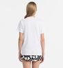 Calvin Klein Dámské Tričko Logo Biele, L - 2/4