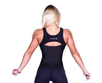Nebbia Fitness Tielko 268 Čierne - 2