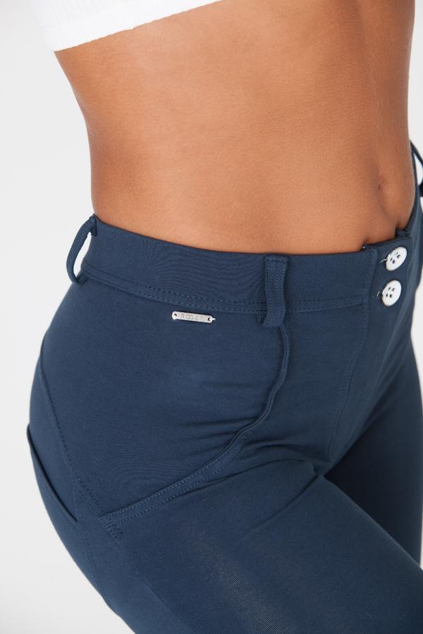Boost Pants Mid Waist Dark Blue, XS - 2