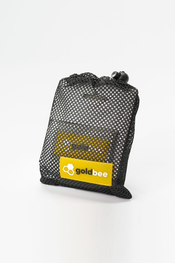 GoldBee Textilná Odporová Guma - Svetlo Sivá, L - 2
