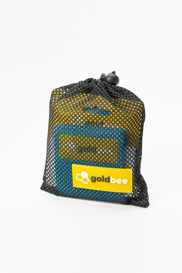GoldBee Textilná Odporová Guma - Modrá, S - 2