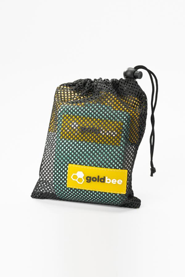 GoldBee Textilná Odporová Guma - Tyrkysová, M - 2