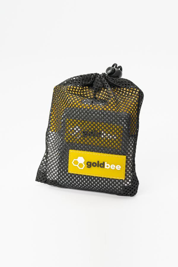 GoldBee Textilná Odporová Guma - Tmavo Sivá, S - 2