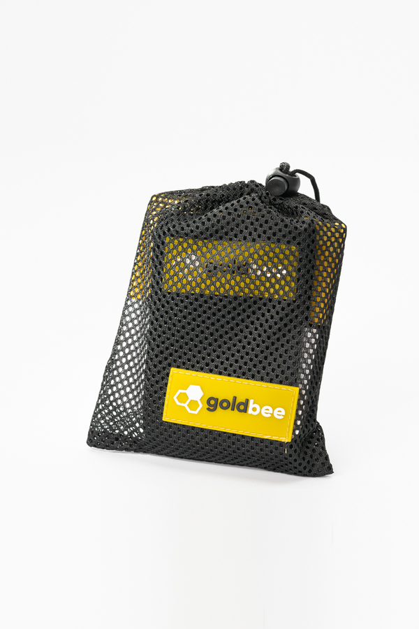 GoldBee Textilná Odporová Guma - Čierná, L - 2