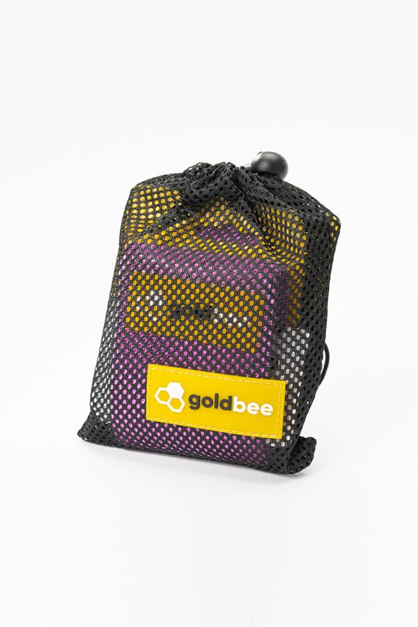 GoldBee Textilná Odporová Guma - Fialová, L - 2