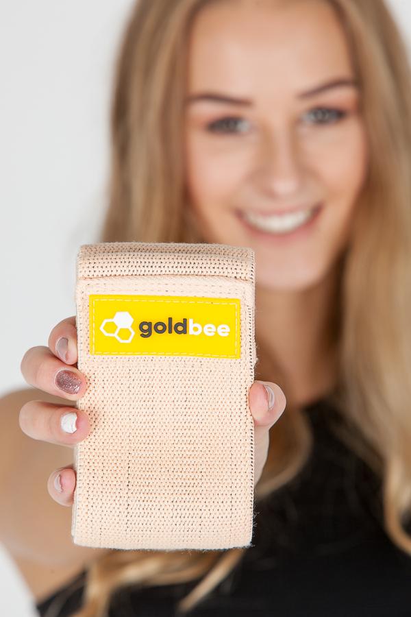 GoldBee Textilná Odporová Guma Marhuľová, L - 2