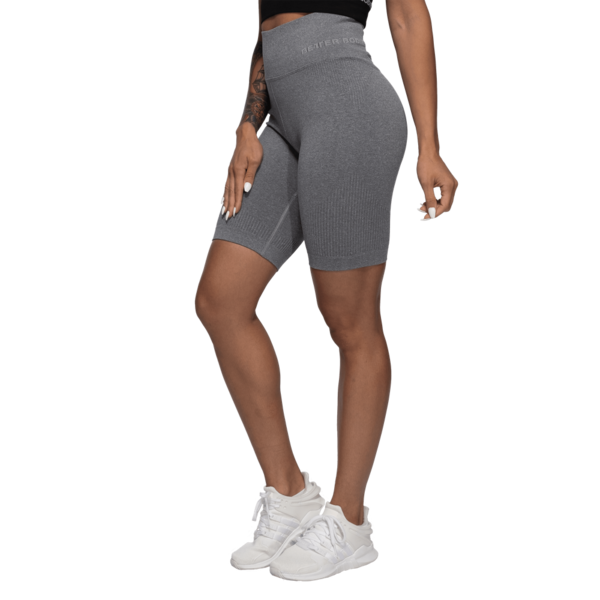 Better Bodies Kraťasky Rib Seamless Grey Melange, M - 2