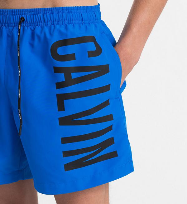 Calvin Klein Plavkové Šortky Intense Power Blue - 3