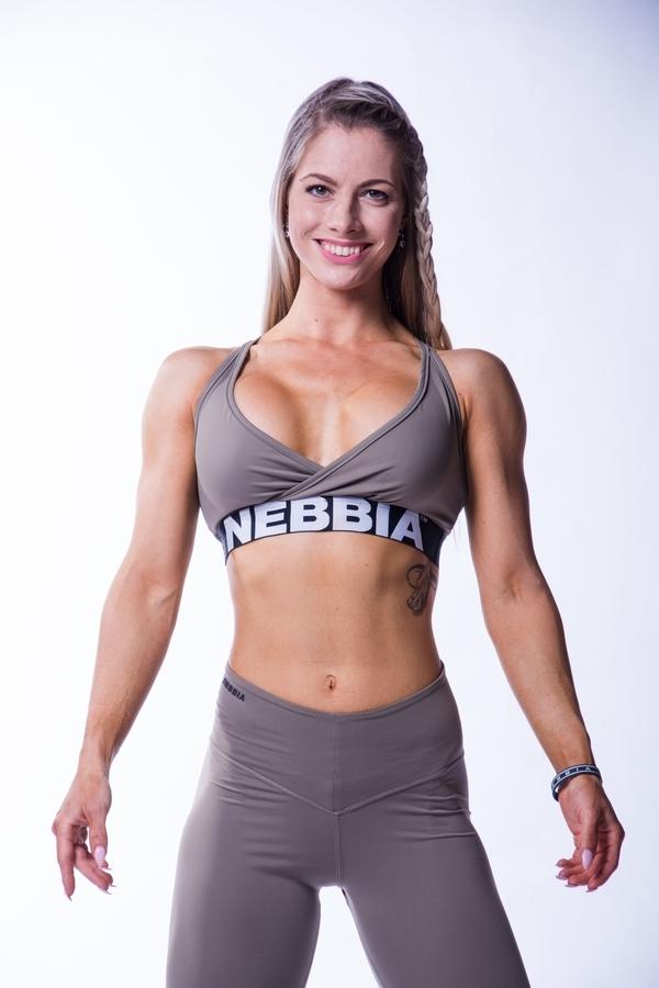 Nebbia 620 Open Back Bra Mocha - 3