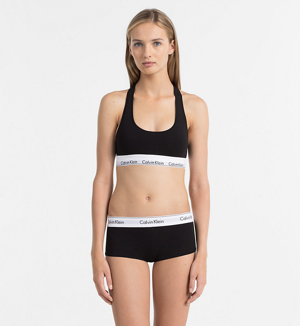 Calvin Klein Shorts Modern Cotton Black  - 3