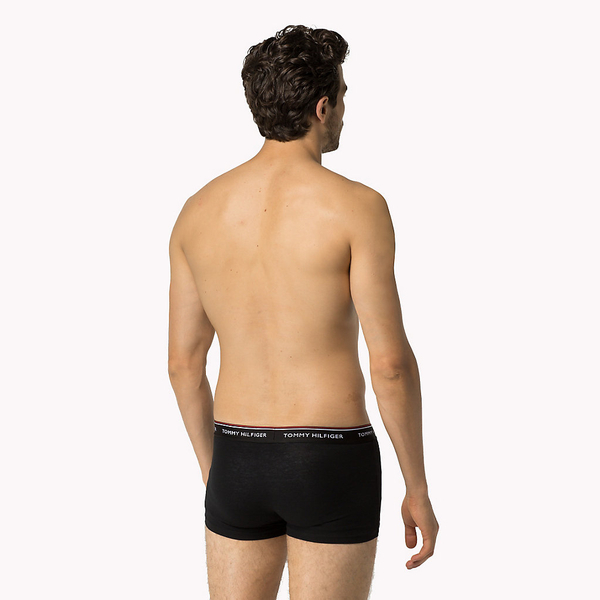 Tommy Hilfiger 3Pack Boxerky Black - 3