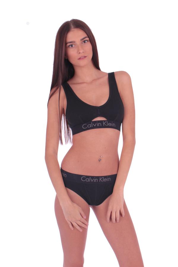 Calvin Klein Thong Body Čierne - 3