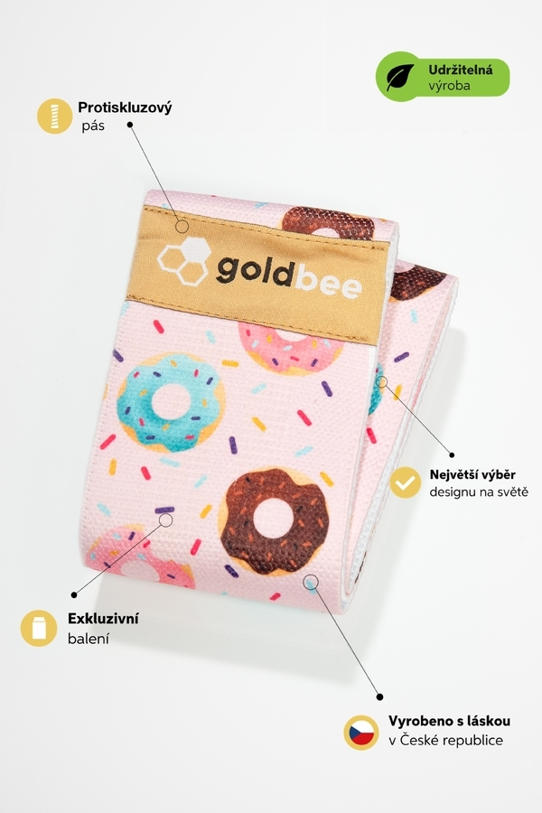 GoldBee BeBooty Pink Donuts - 3
