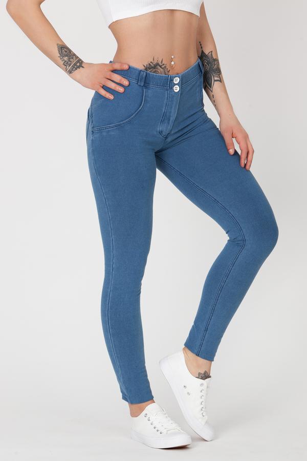 Boost Jeans Mid Waist Light Blue Predobjednávka, L - 3