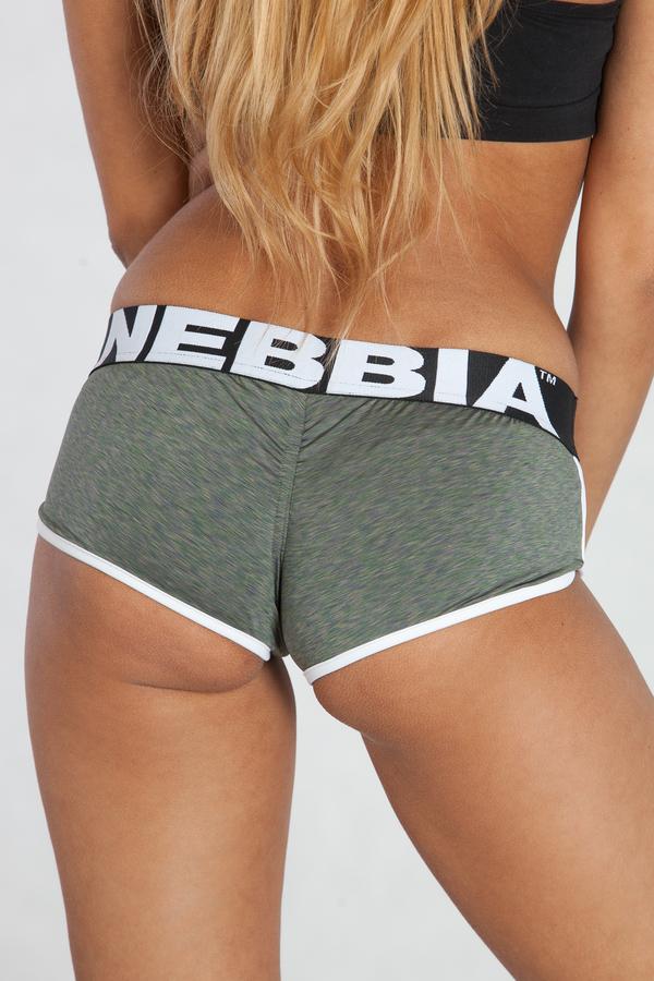 Nebbia Mini Kraťásky 266 Khaki - 3