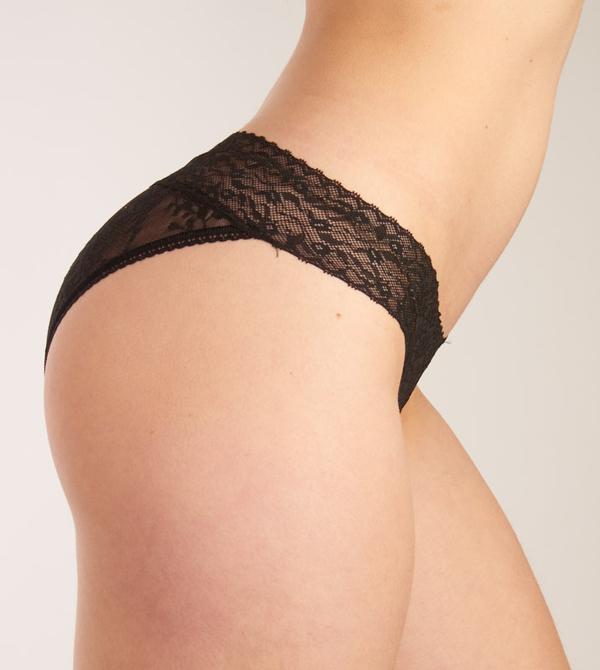 Calvin Klein Kalhotky Lace Čierné, L - 3