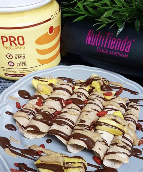 OvoWhite Pancakes Pro Hazelnut Cream 1500g - 3
