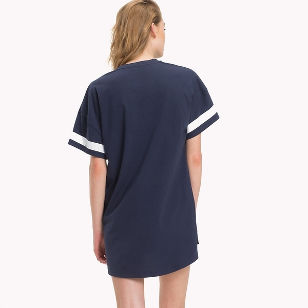 Tommy Hilfiger Nightdress College 85 Navy, L - 3