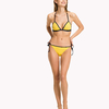 Tommy Hilfiger Cheeky String Side Plavky Yellow Spodní Diel, S - 3/3