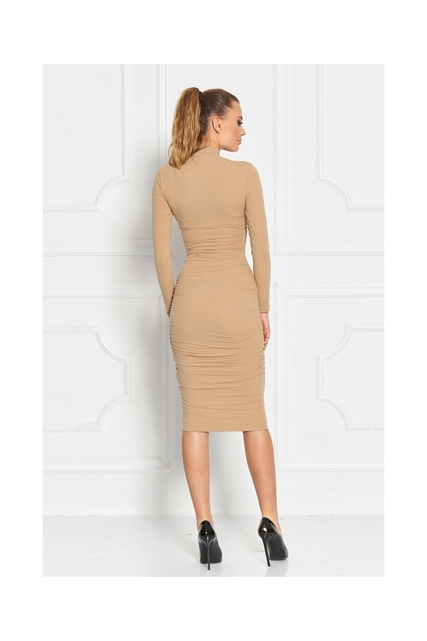 Sugarbird Dress Eraszto Beige, S - 3