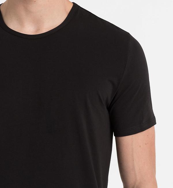 Calvin Klein Pánske Tričko CK Black, S - 3