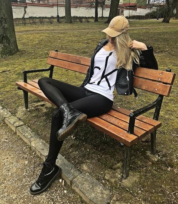 Calvin Klein Dámske Tričko Biele CK, L - 3