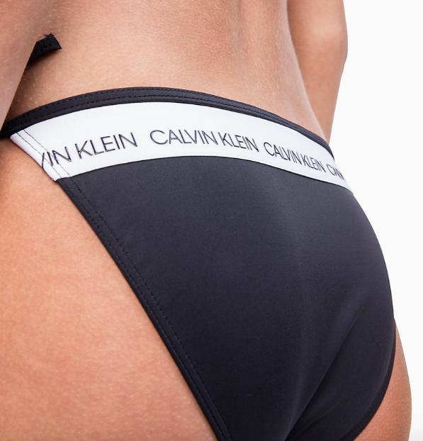 Calvin Klein Plavky CK Logo Black Spodný Diel, L - 3
