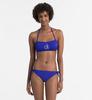 Calvin Klein Plavky NYC Bandeau Modré Vrchní Diel, M - 3/3