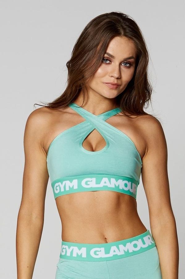 Gym Glamour Podprsenka Pistachio Basic, S - 3