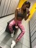 Legíny Gym Glamour Pink Lady, XS - 3/7