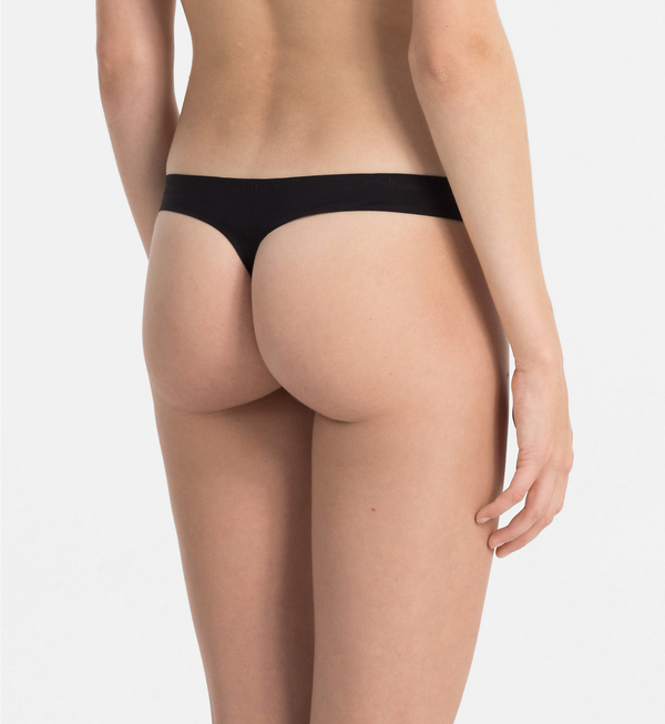 Calvin Klein Thong Perfectly Fit Čierne, L - 3