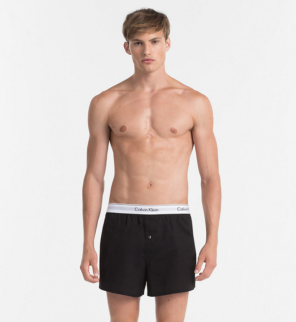 Calvin Klein 2 Pack Trenky Black&Grey, M - 3