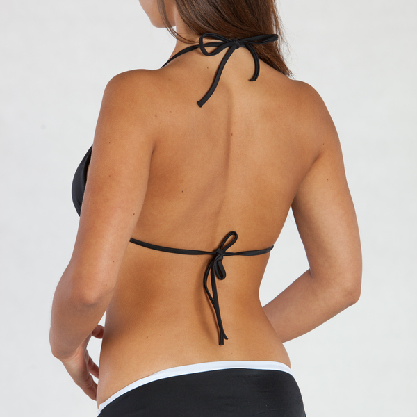 Calvin Klein Plavky NOS Logo Black Vrchný Diel, L - 3