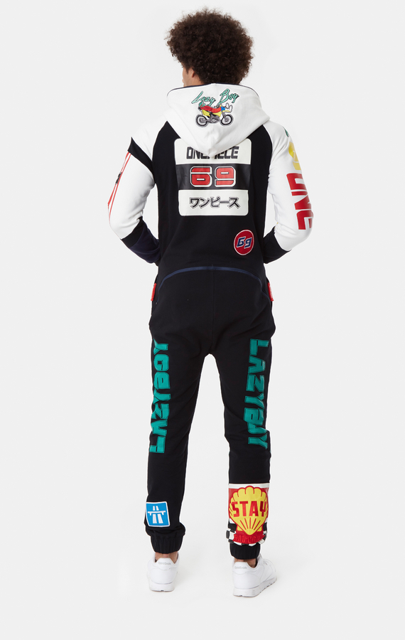 OnePiece Grand Prix Black, M - 3