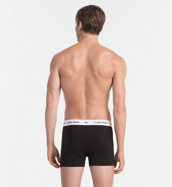 Calvin Klein 3Pack Boxerky Black - 3