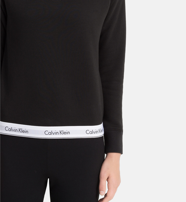 Calvin Klein Mikina Čierna, XL - 3