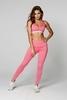 Gym Glamour Legíny High Waist Pink, S - 3/5